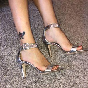 Style&Co Silver Sandal